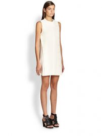 Proenza Schouler - Seamed Crepe Shift at Saks Fifth Avenue