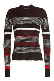 Proenza Schouler - Striped Pullover with Wool  Silk and Cashmere at Stylebop