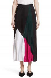 Proenza Schouler Colorblock Knit Skirt at Nordstrom