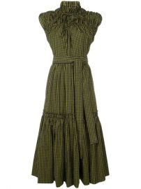 Proenza Schouler Gingham Tiered Dress - Farfetch at Farfetch