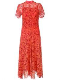 Proenza Schouler Lace Short Sleeve Dress - Farfetch at Farfetch