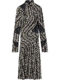 Proenza Schouler Marble Print Stretch Chiffon Dress - Farfetch at Farfetch