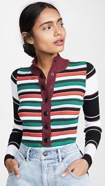 Proenza Schouler PSWL Rugby Striped Turtleneck Sweater at Shopbop