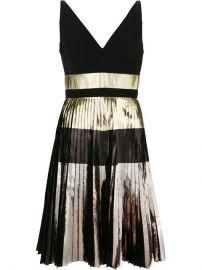 Proenza Schouler Pleated Metallic Dress at Farfetch