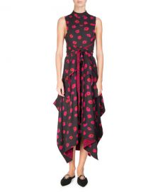 Proenza Schouler Sleeveless Floral-Print Dress at Bergdorf Goodman
