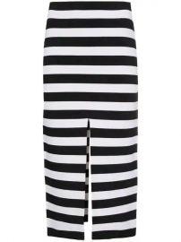 Proenza Schouler Stripe Knit Pencil Skirt - Farfetch at Farfetch