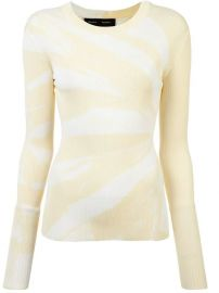 Proenza Schouler Tie Dye Rib Knit Top - Farfetch at Farfetch