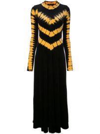 Proenza Schouler Tie Dye Velvet Long Sleeve Dress - Farfetch at Farfetch