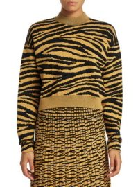 Proenza Schouler Tiger Jacquard Sweater at Saks Fifth Avenue