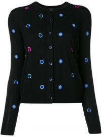 Ps By Paul Smith Polka Dot Embroidered Cardigan at Farfetch