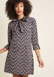 Pucker Up! Cotton Shift Dress by Modcloth at Modcloth