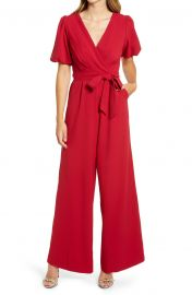 Puff Sleeve Jumpsuit at Nordstrom
