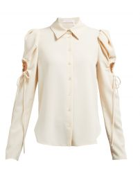Puff Sleeved Cut-Out Blouse by See by Chloe at Matches