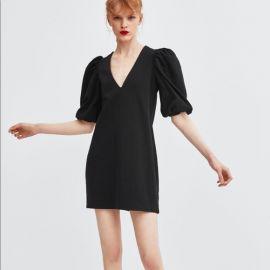 Puff short sleeve Dress by Zara at Zara