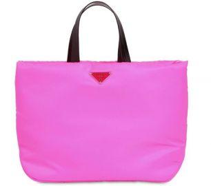 Puffer Nylon Tote Bag by Prada at Luisaviaroma