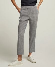 Pull-On Trouser in Linen  at Argent