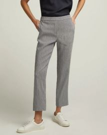 Pull-On Trouser in Linen by Argent at Argent