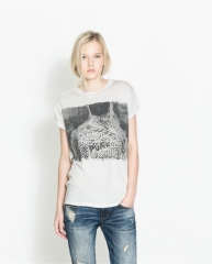 Punk Design Tshirt at Zara