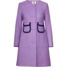 Purple Coat at Orla Kiely