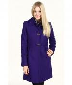 Purple DKNY Coat at Zappos