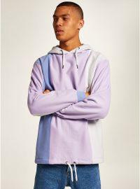 Purple Vertical Stripe Hoodie by Topman at Topman