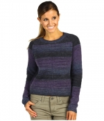 Purple and grey sweater at Zappos