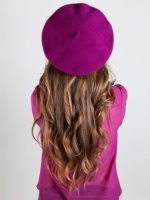 Purple beret like Marys at American Apparel