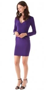 Purple dress by Zac Posen at Shopbop