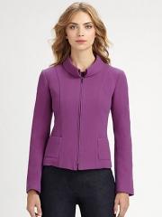Purple jacket by Armani at Saks Fifth Avenue