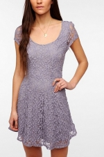 Purple lace dress at Urban Outfitters at Urban Outfitters
