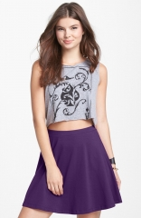 Purple skirt by Lily White at Nordstrom