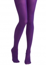 Purple tights like Carries at Modcloth