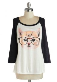 Purr-fect Vision Top at ModCloth