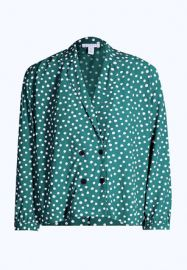 Pyjama Style Shirt at Topshop