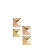 Pyramid earrings set at Asos