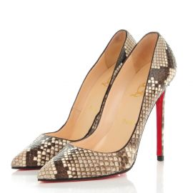 Python Pigalle Pumps by Christian Louboutin at Christian Louboutin