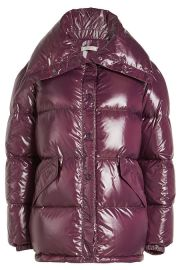 QUILTED DOWN JACKET nina ricci at Stylebop