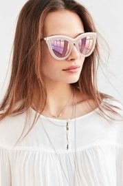 Quay Eclipse Sunglasses at Urban Outfitters