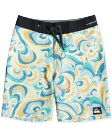 Quiksilver Boys Highline Voodoo Stretch Abstract-Print 18 at Macys