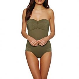Quilted Bandeau One Piece at Amazon