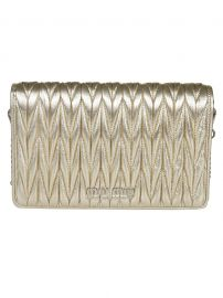 Quilted Clutch by Miu Miu at Italist