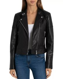 Quilted Leather Moto Jacket at Bloomingdales