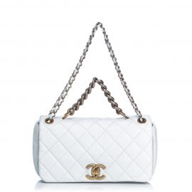 Quilted Leather Pondicherry Medium Flap Bag by Chanel at LePrix