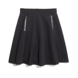 Quilted Skater Skirt at Madewell