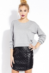 Quilted Skirt at Forever 21
