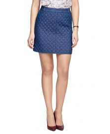 Quilted Skirt at Brooks Brothers