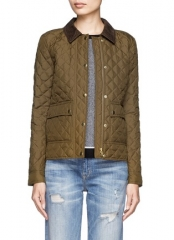 Quilted Tack Jacket by J. Crew at Lane Crawford