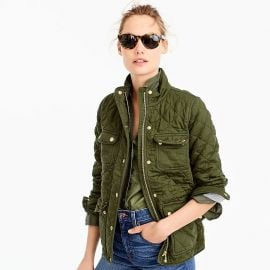 Quilted downtown field jacket at J. Crew