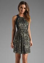 Quinn's sequin dress at Revolve