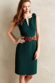 Quitled Tema Dress at Anthropologie